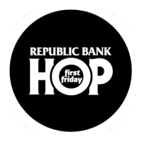 first friday hop logo