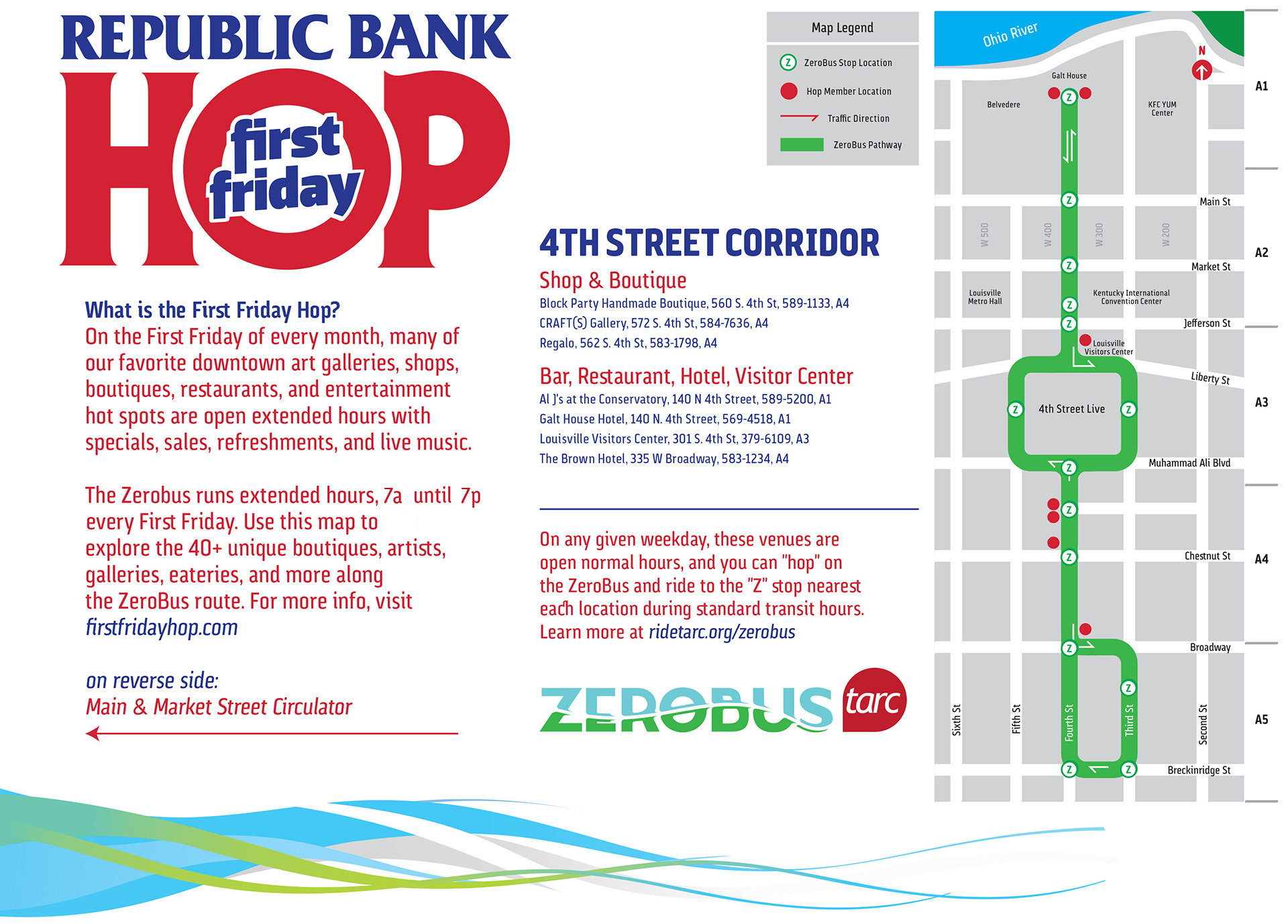 first friday south 4th street map