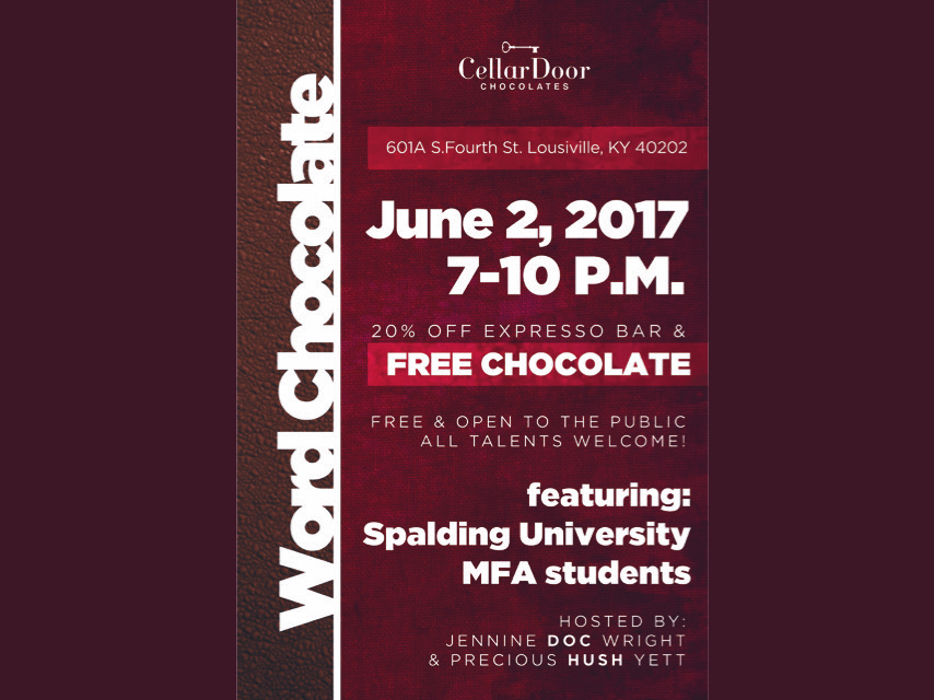 Word Chocolate Flyer v2
