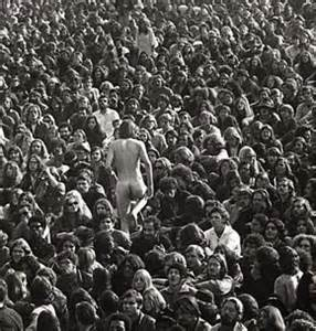 naked man at altamont
