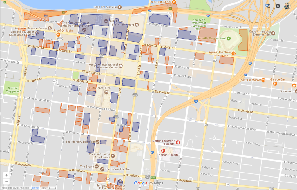 Republic Bank First Friday Parking Maps Downtown
