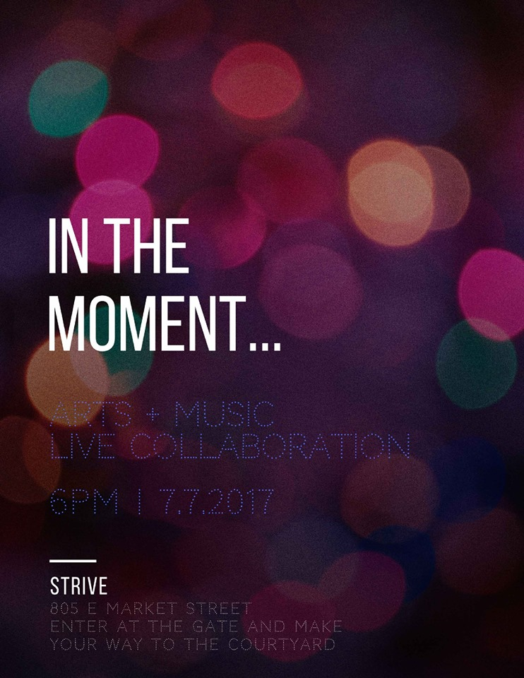 in the moment Strive Nulu First Friday