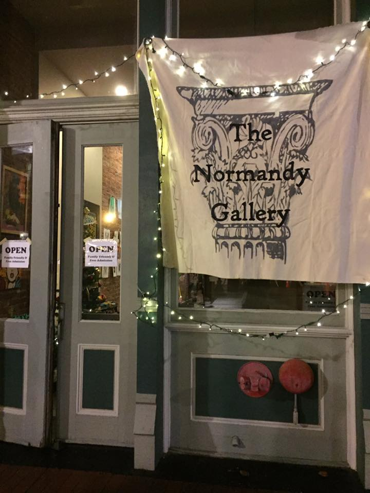 The Normandy Gallery Entrance