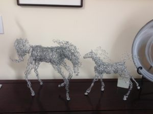 Wild Wire Horse at Koi Gallery