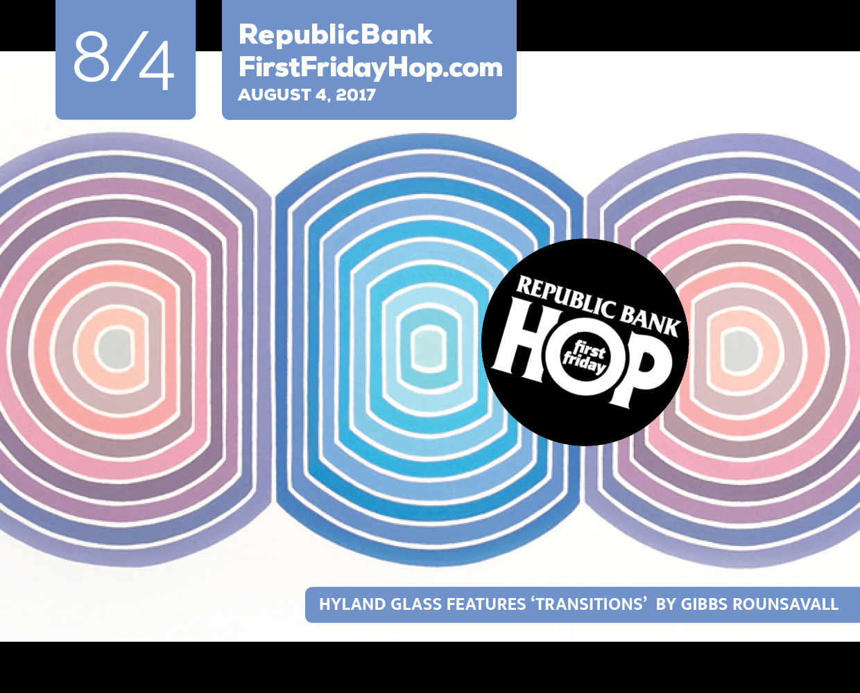Republic Bank First Friday Hop August 4 2017