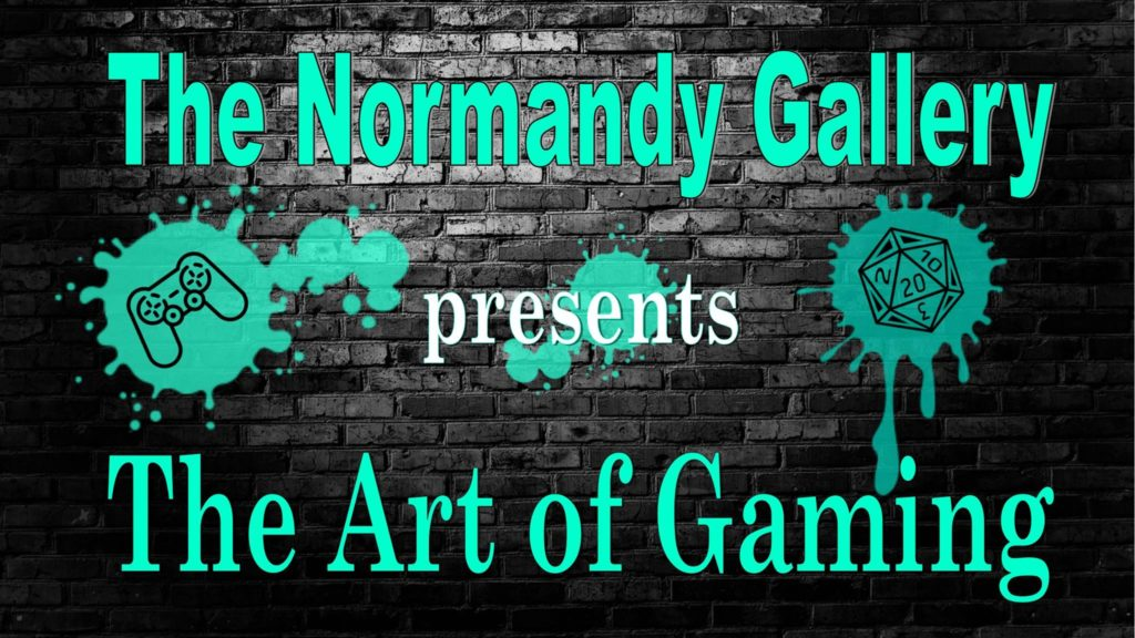 the art of gaming Normandy gallery warp zone louisville