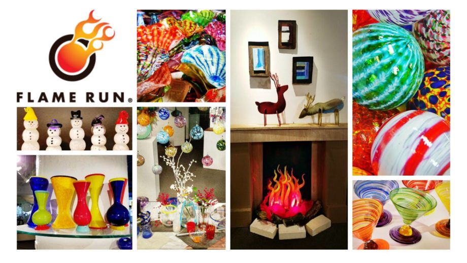 All That Jazz: Holiday Cheer & All That Jazz · Hosted by Flame Run Glass Studio and Gallery