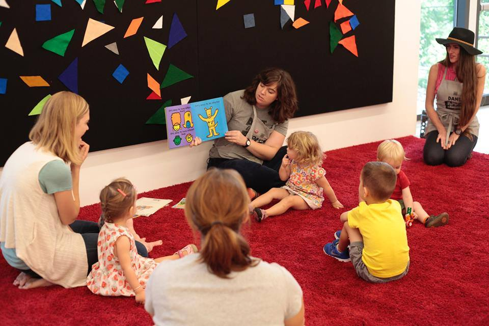 Join KMAC Educators for story time with music and art-making for preK learners and grown ups in this free
