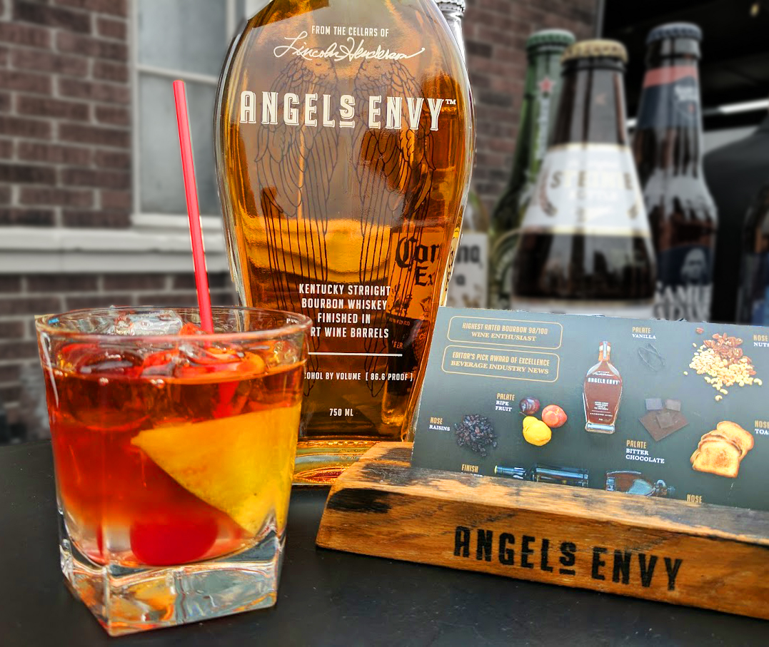 Angel's Envy distillery tours on First Friday! image