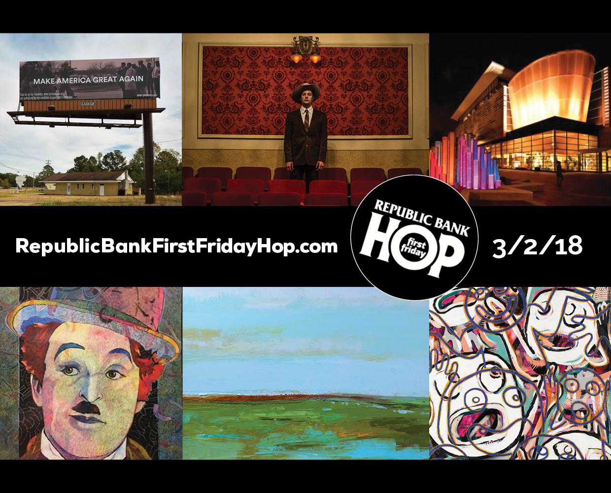 March 2nd Republic Bank First Friday Hop!
