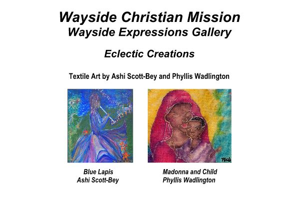 eclectic creations textile art by ashi scott bey and phyllis
