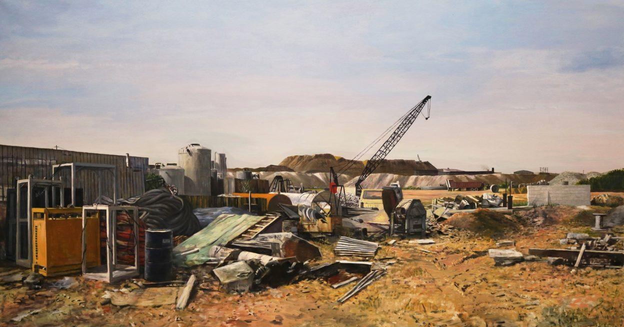 Industrial Wastelands Solo Exhibition from Dean Thomas Hosted by Tim Faulkner Gallery image