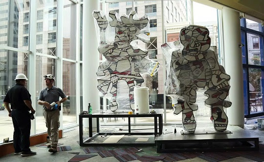 CUB helps ART of Greater Kentucky protect artwork at Kentucky Center for the Arts