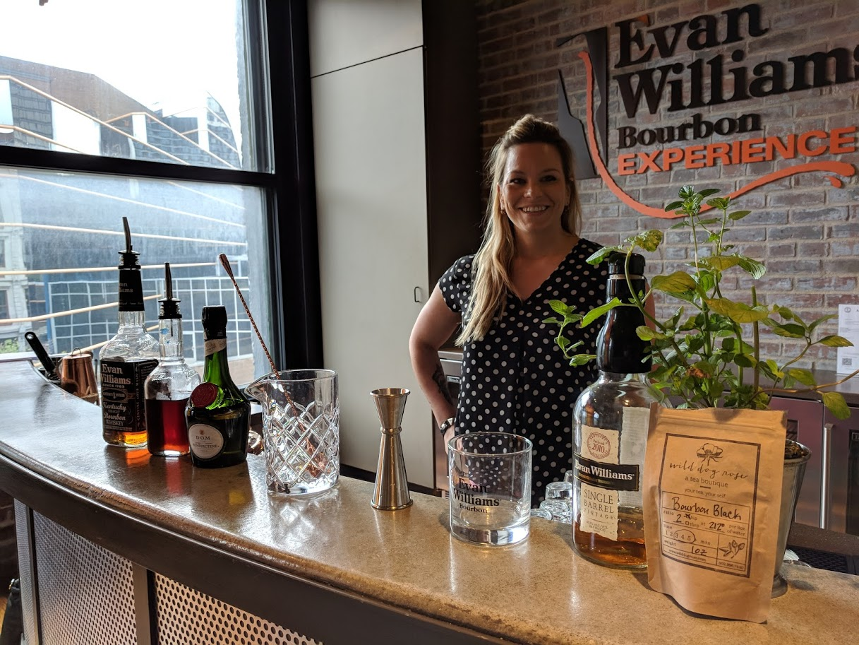 Tour the the Evan Williams Bourbon Experience on First Friday image