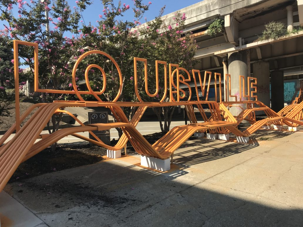 "Ninth Street underpass opens ""The Louisville Knot"" on First Friday image"